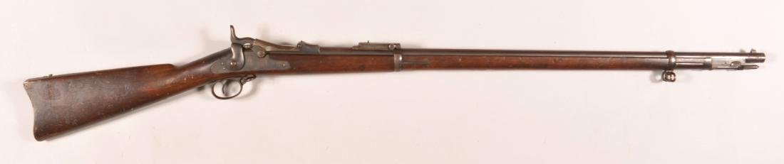 U.S. Springfield Model 1884 Trapdoor Rifle.