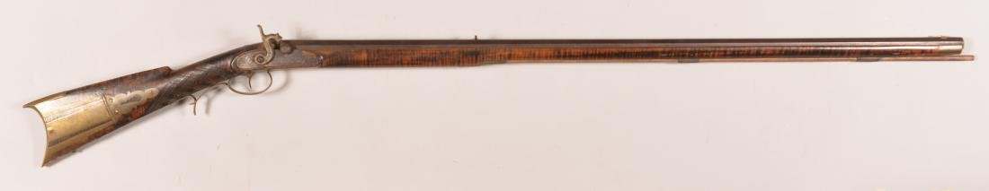 Jacob Fordney Pennsylvania Percussion Long Rifle.