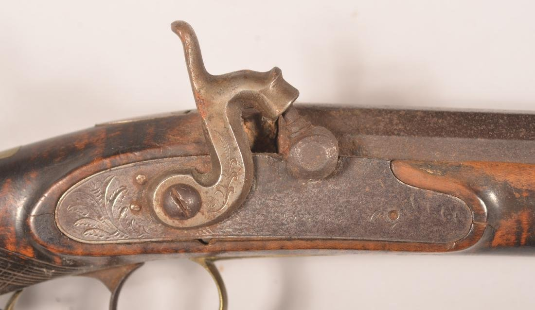 Jacob Fordney Pennsylvania Percussion Long Rifle. - 2
