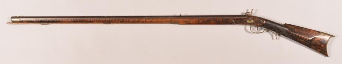 Jacob Fordney Pennsylvania Percussion Long Rifle. - 7