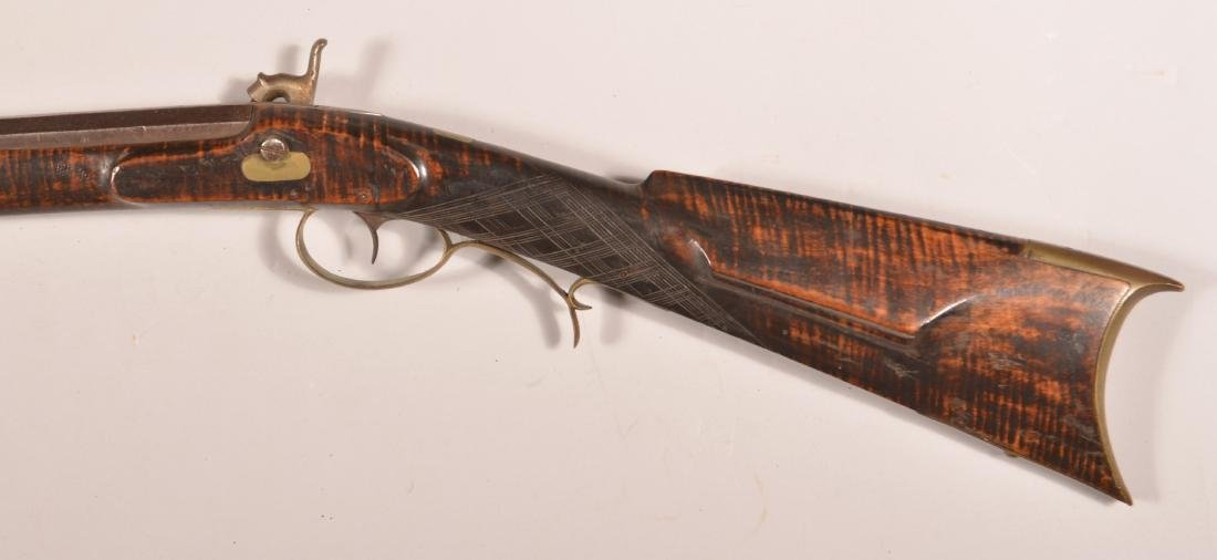 Jacob Fordney Pennsylvania Percussion Long Rifle. - 8