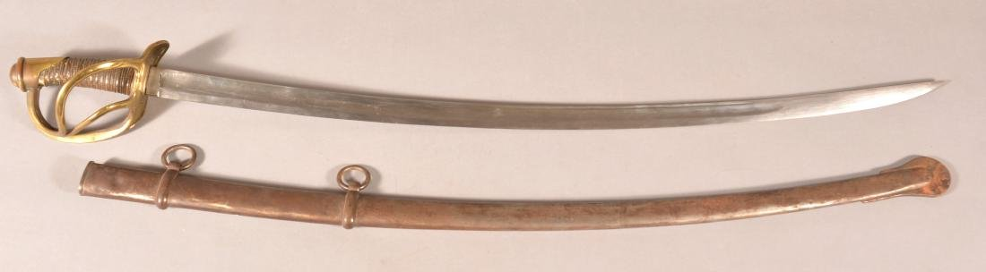 Unmarked U.S. Model 1860 Cavalry Saber.