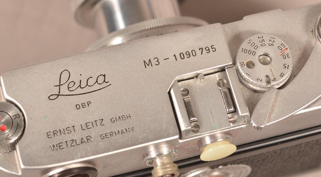 1963 Leica M3 Camera, SN-1090795. - 3