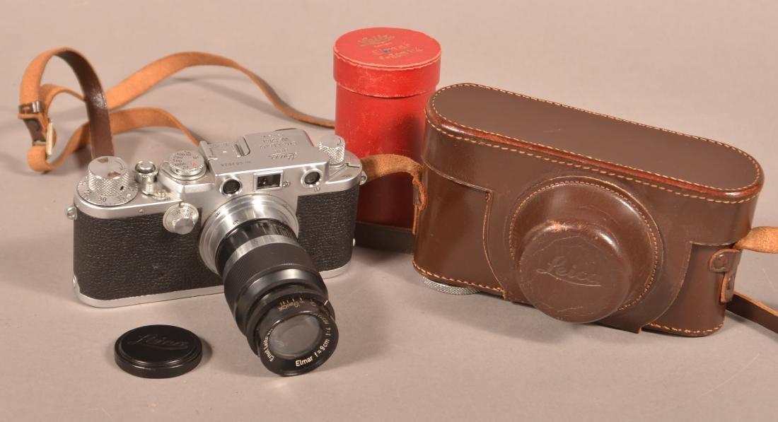 1951/52 Leica Ernst Leitz Wetzlar Camera.