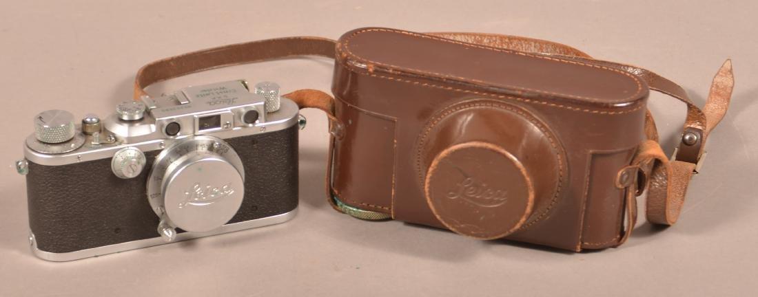 1937 Leica Ernst Leitz Wetzlar Camera.