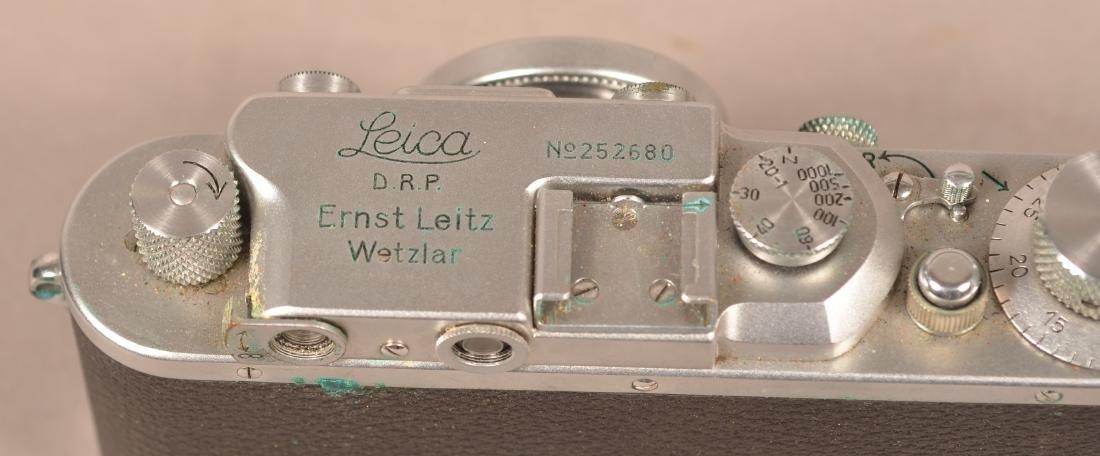 1937 Leica Ernst Leitz Wetzlar Camera. - 4