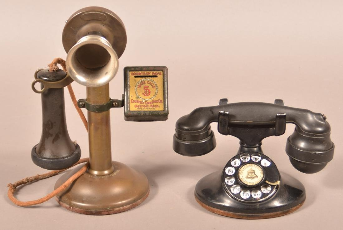 Two Antique/Vintage Western Electric Telephones.