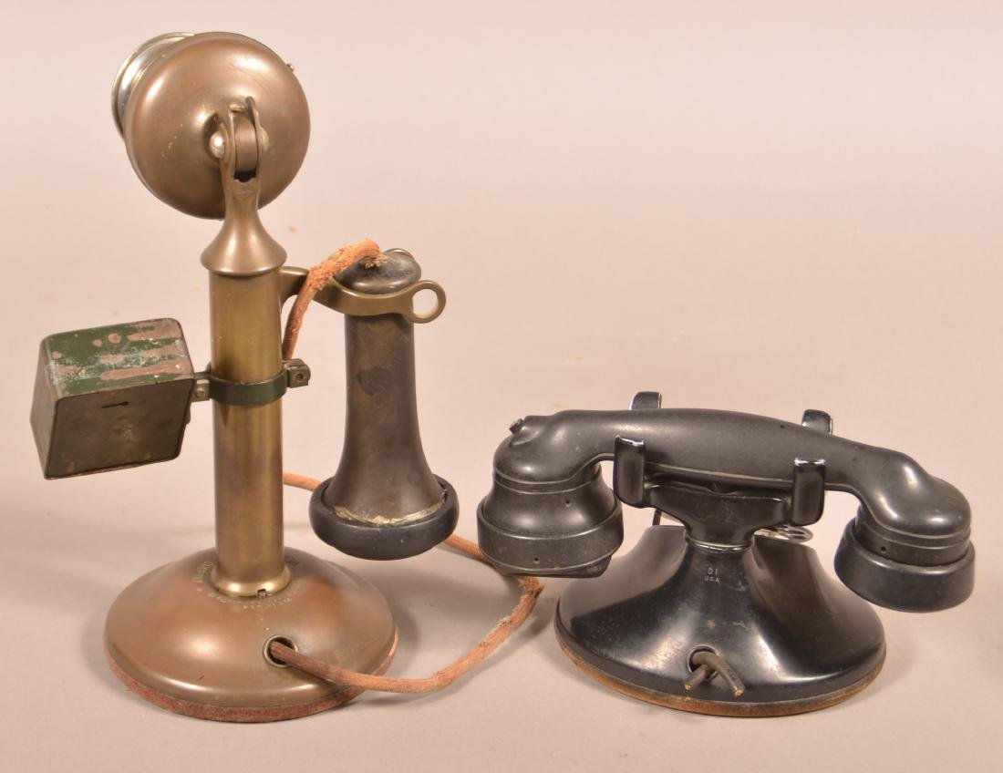 Two Antique/Vintage Western Electric Telephones. - 2