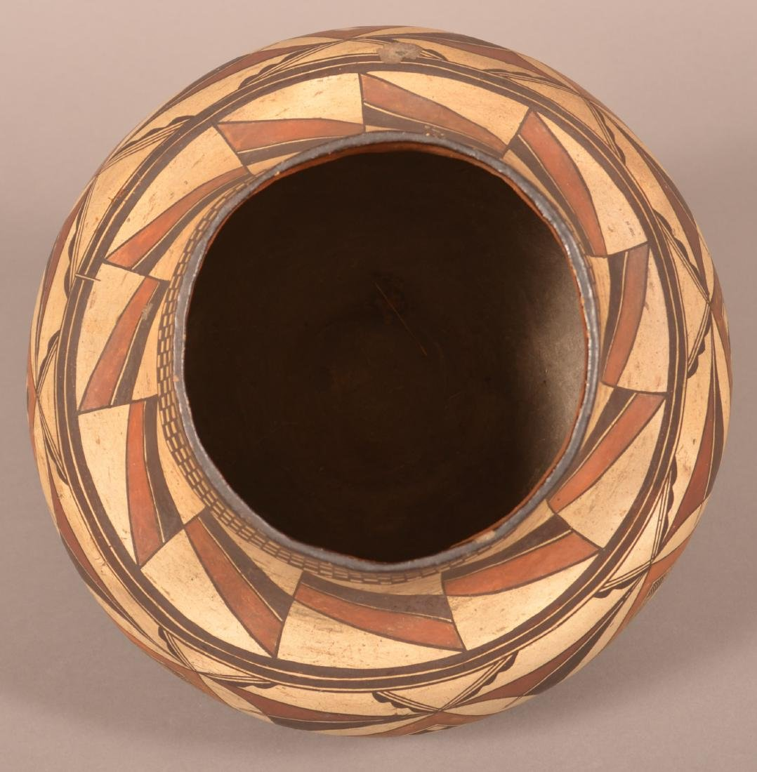 Very Fine Acoma Polychrome Pottery Olla. - 3