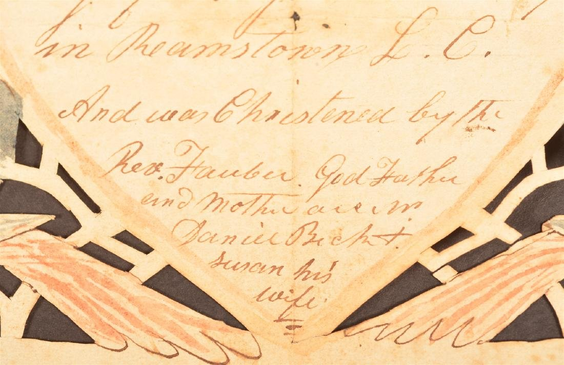 1807 Lancaster Co., Pa Scherenscnitte. - 3