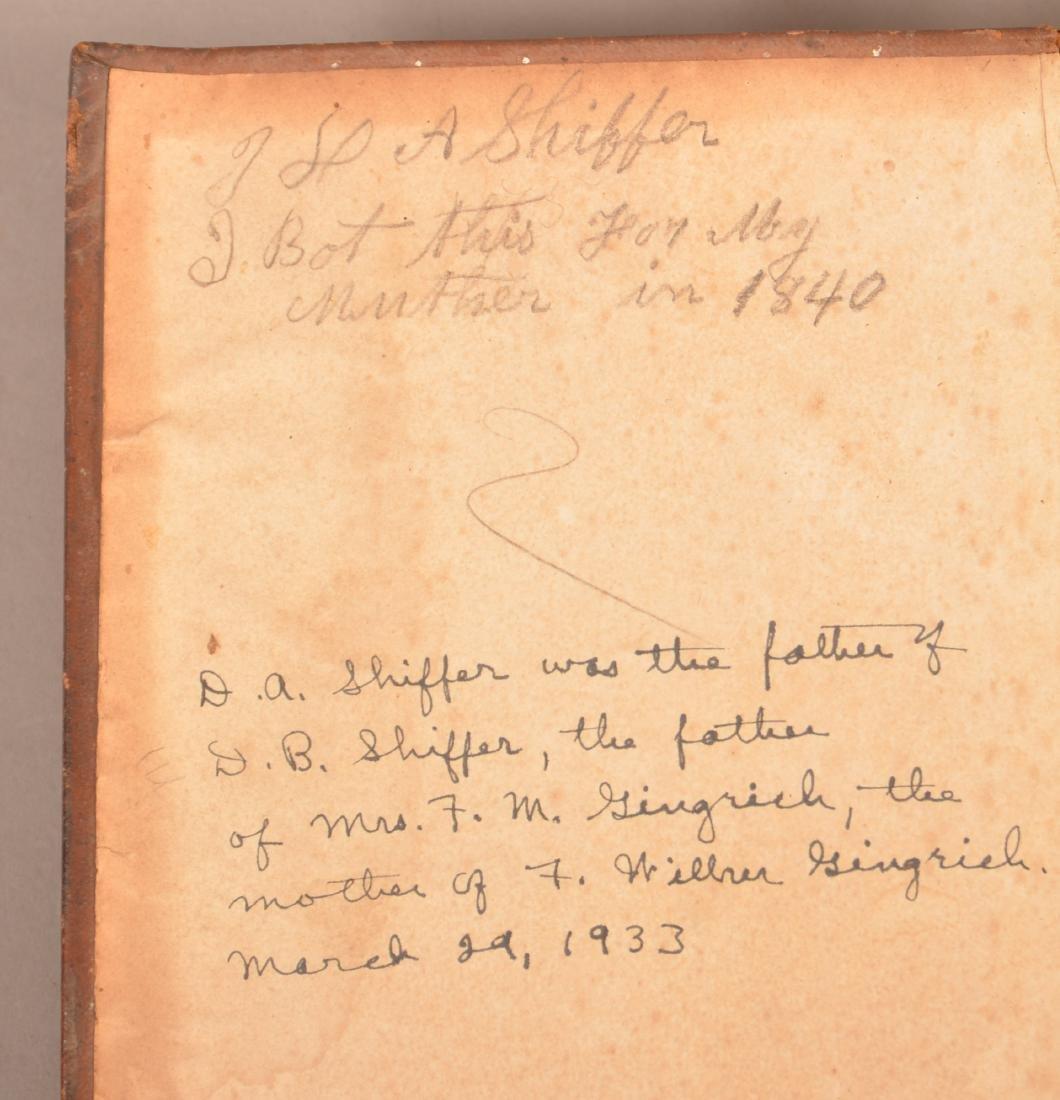 1807 Lancaster Co., Pa Scherenscnitte. - 7
