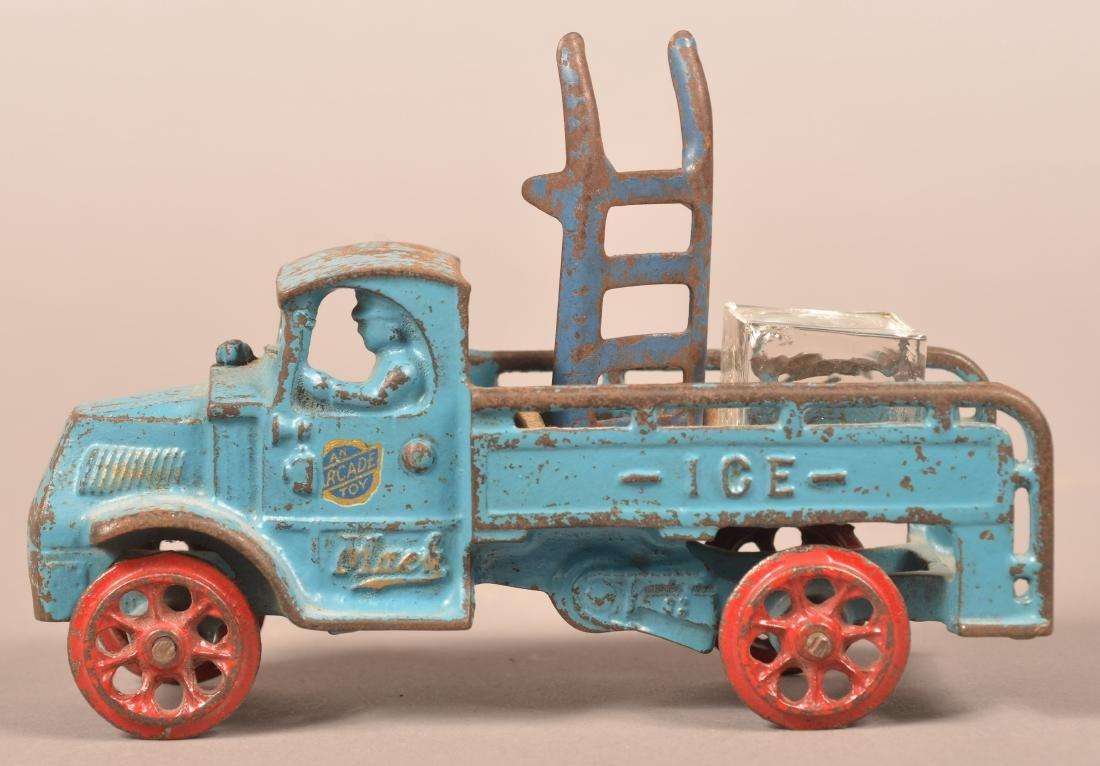 Arcade Cast Iron Mack Ice Truck.