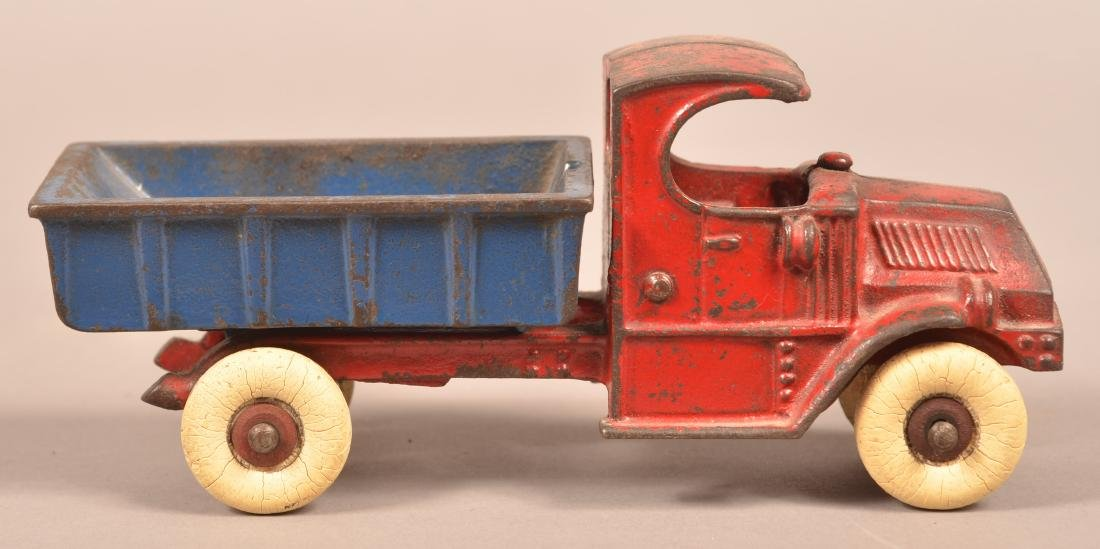 Champion Cast Iron Mack Dump Truck.