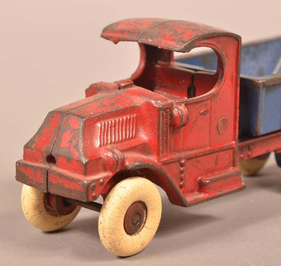 Champion Cast Iron Mack Dump Truck. - 3