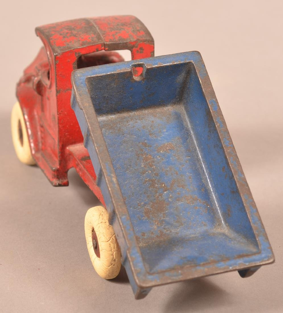 Champion Cast Iron Mack Dump Truck. - 4