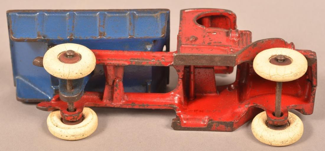 Champion Cast Iron Mack Dump Truck. - 5