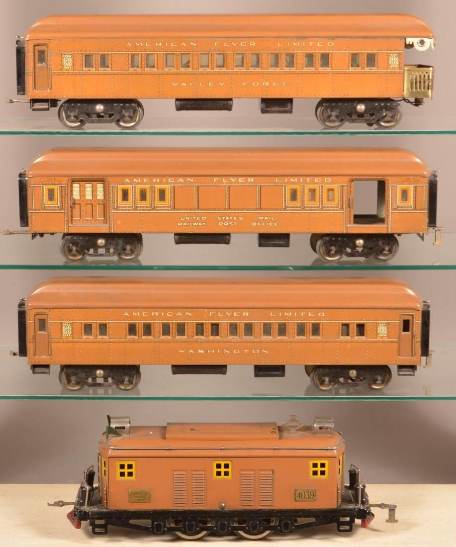 American Flyer President Special Train Set.