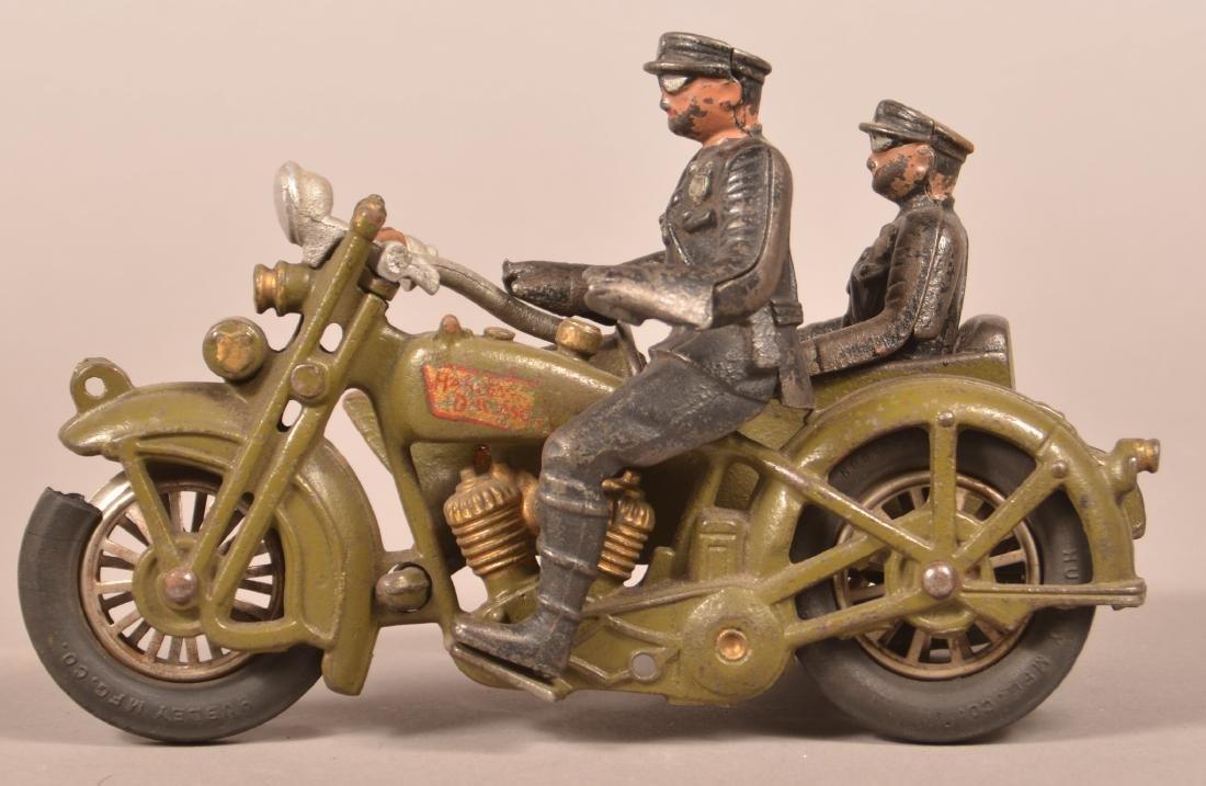Hubley Harley Davidson Police Motorcycle.