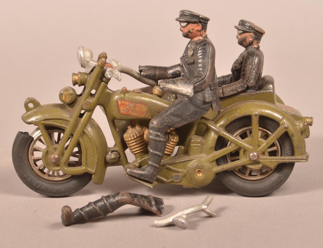 Hubley Harley Davidson Police Motorcycle. - 2