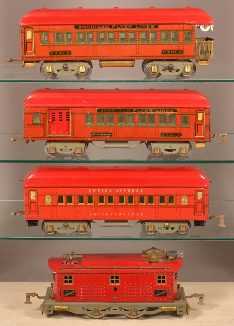 American Flyer Eagle Passenger Train Set.