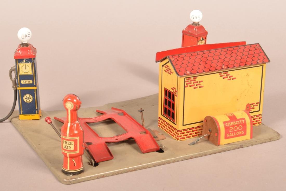 Marx Pressed Steel Sunny Side Service Station. - 3