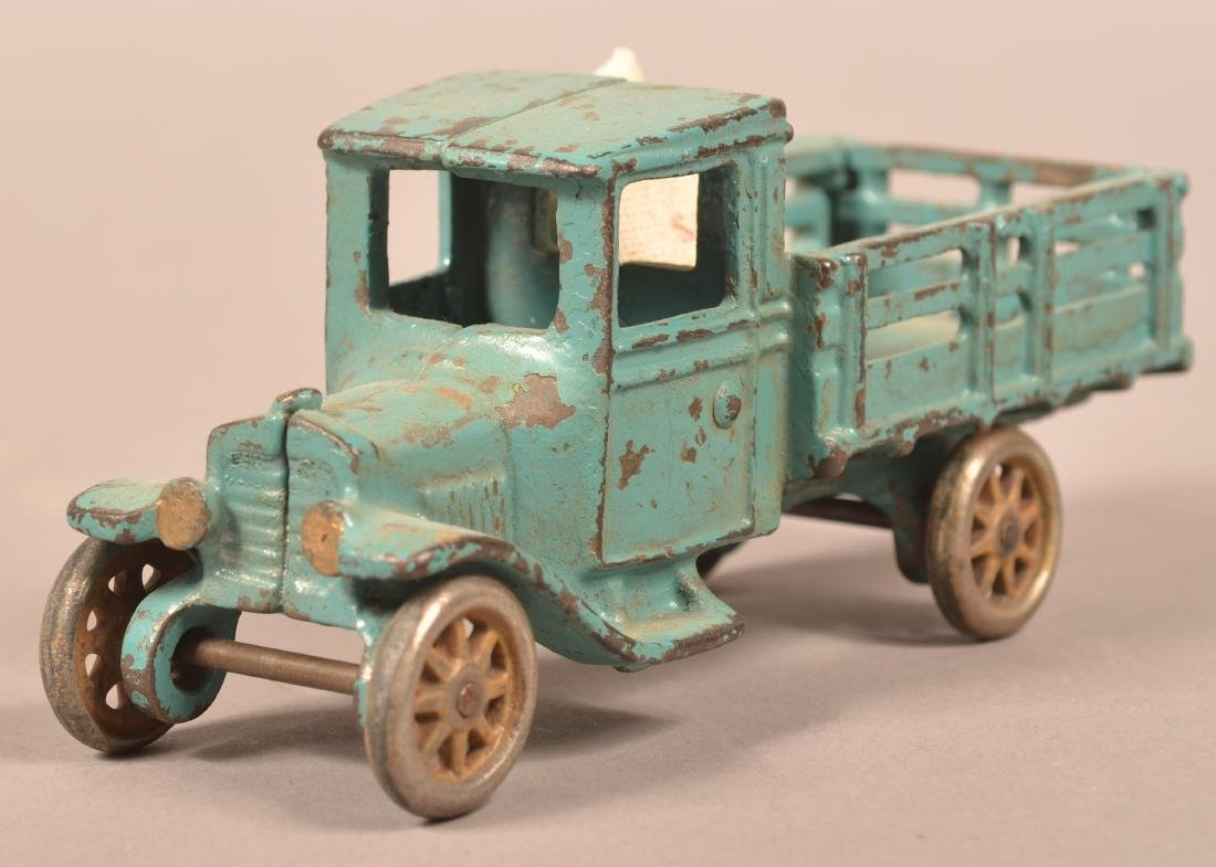 Arcade Cast Iron Model T Stake Body Truck. - 2