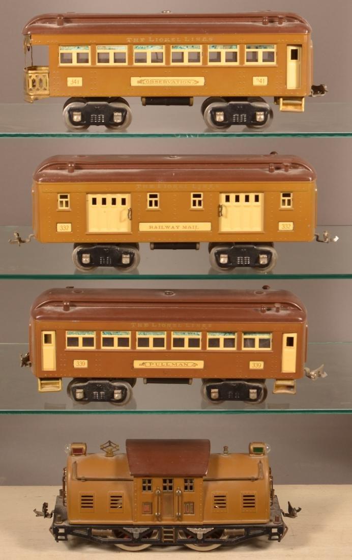 Lionel Standard Gauge Passenger Train Set. - 2