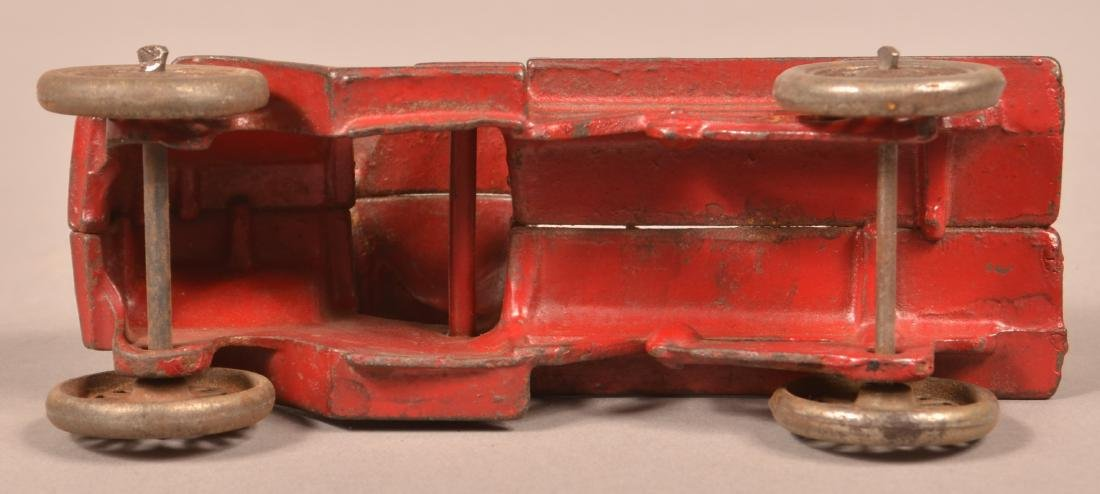Hubley Cast Iron Mack Stake Body Truck. - 5