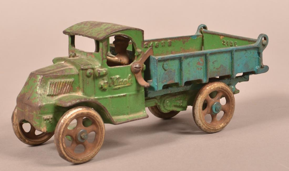 Arcade Cast Iron Mack Dump Truck. - 2