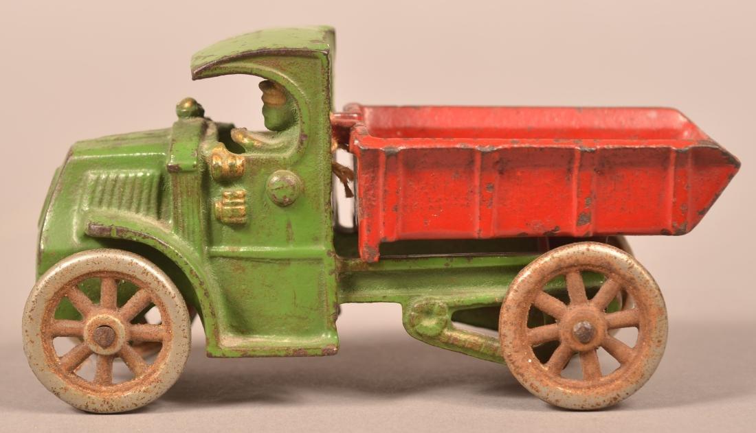 Hubley Cast Iron Mack Dump Truck.