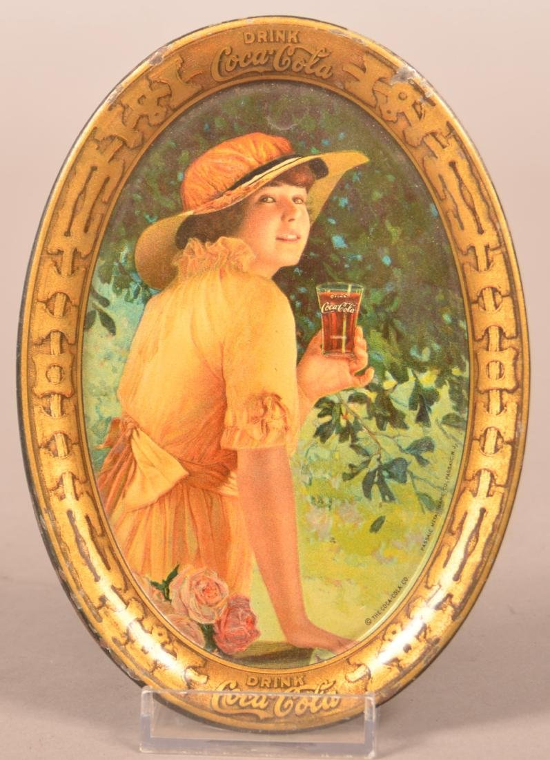 1916 Coca-Cola Tin Lithograph Tip Tray.