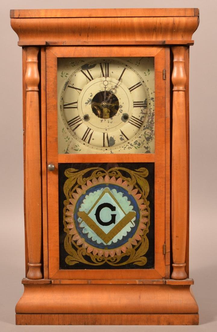 Seth Thomas Mahogany Case Shelf Clock.
