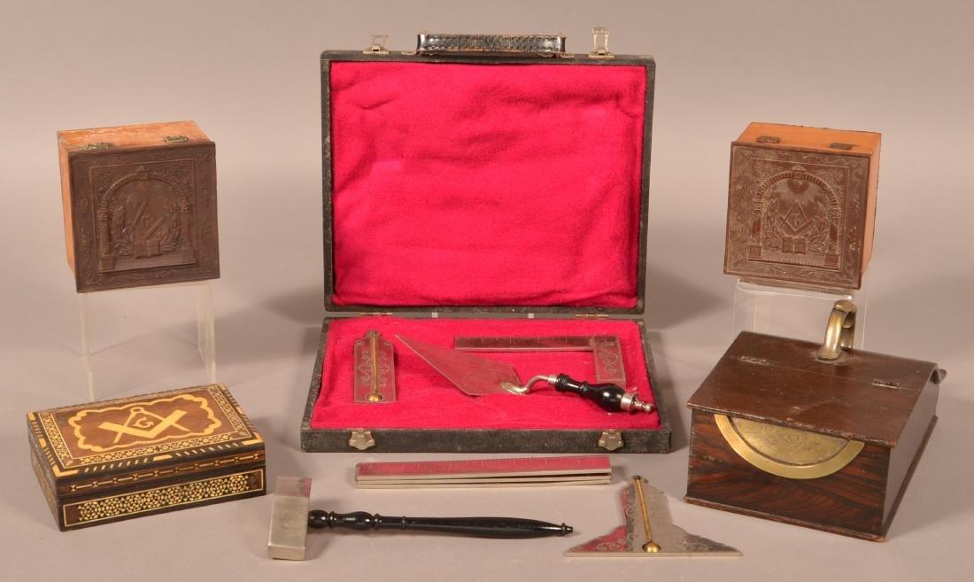 Lot of Antique /Vintage Masonic Items.