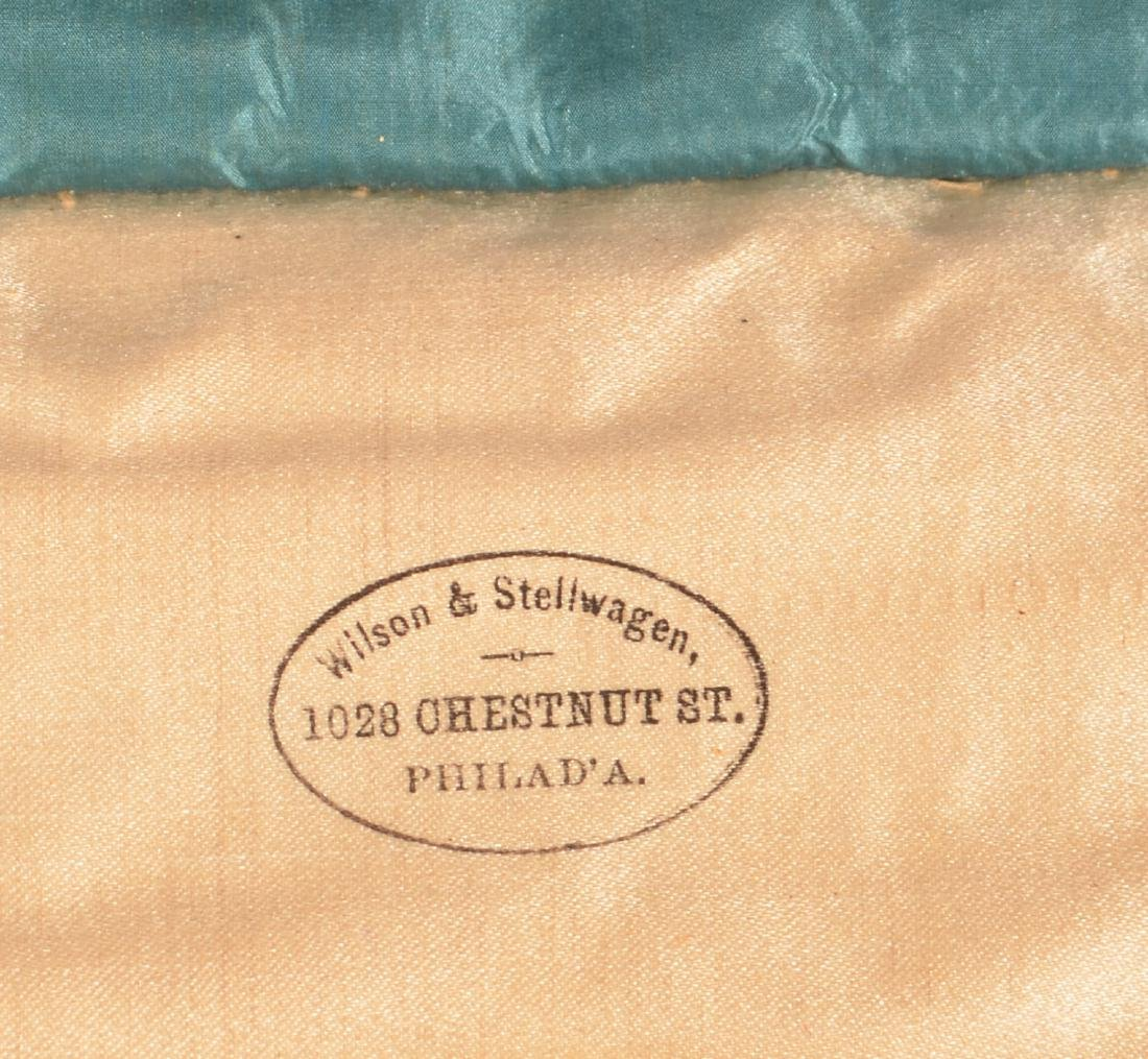 Three Masonic Gilt Thread Needlework  Aprons. - 3
