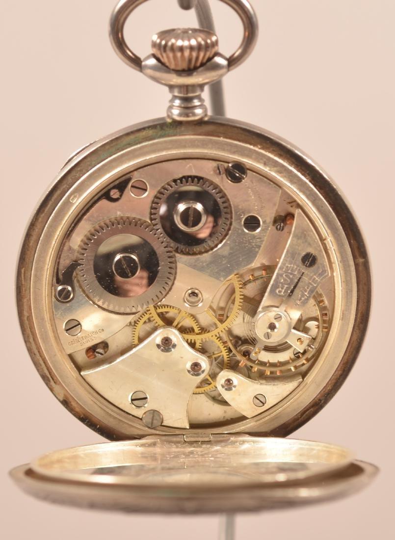 Swiss Cretets Masonic Pocket Watch - 3