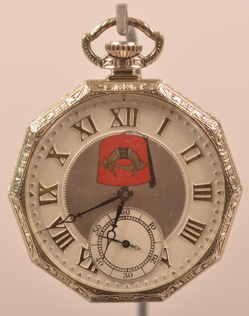 Hamilton Masonic Pocket Watch Rajah