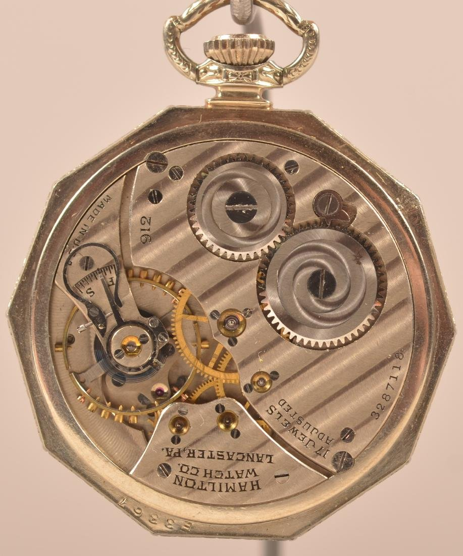 Hamilton Masonic Pocket Watch Rajah - 2