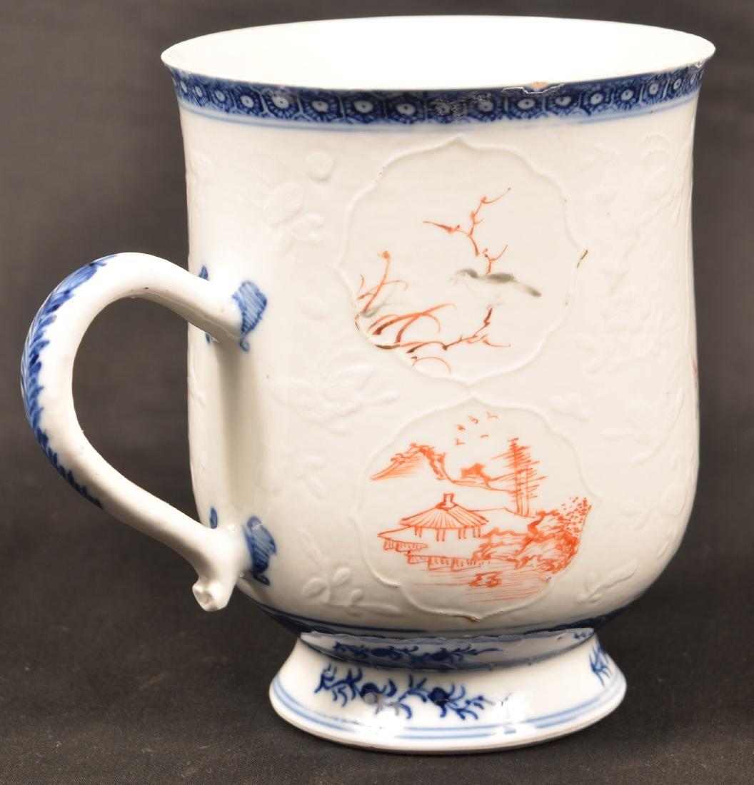 18th Century Chinese Export Porcelain Mug. - 2