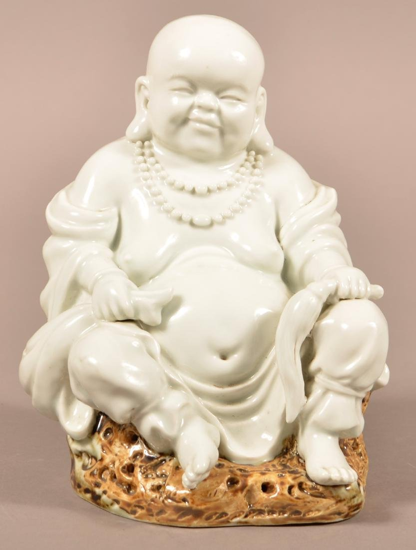 20th Cent. Chinese Porcelain Happy Buddha.