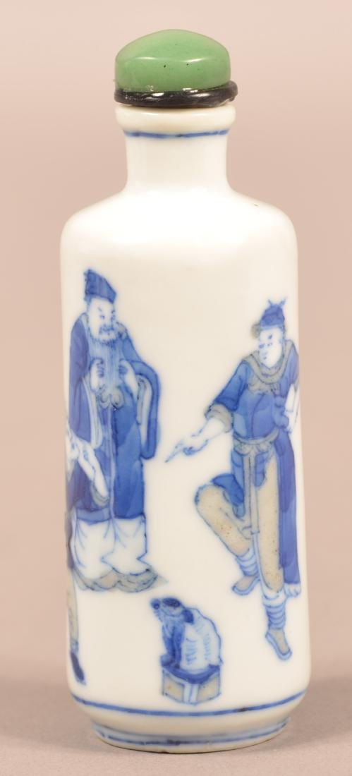 19th C. Chinese Porcelain Snuff Bottle.