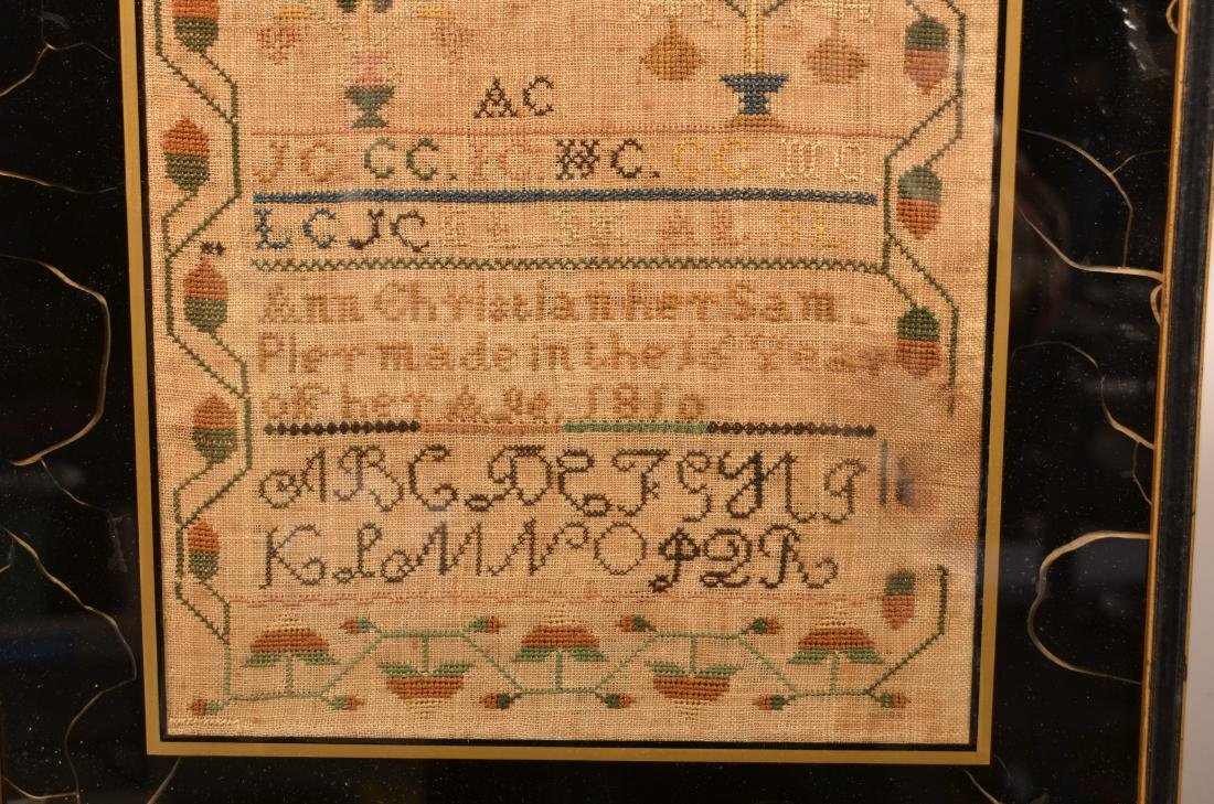 Early 19th Century Needlework Sampler. - 4