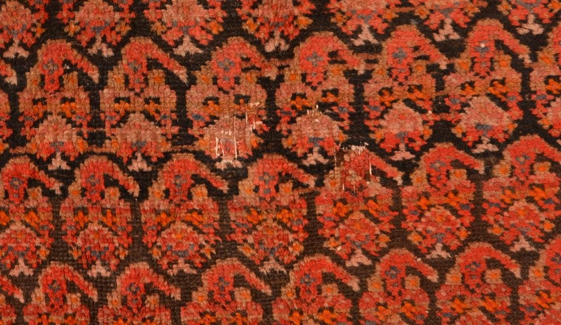 Antique Geometric Pattern Oriental Area Rug. - 4