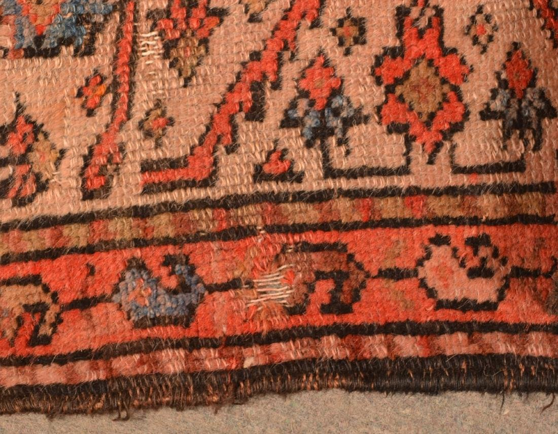 Antique Geometric Pattern Oriental Area Rug. - 6