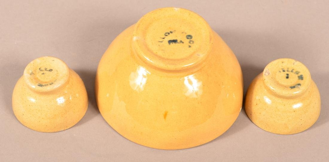 3 Yellow Rock, Philadelphia Yellowware Molds. - 3