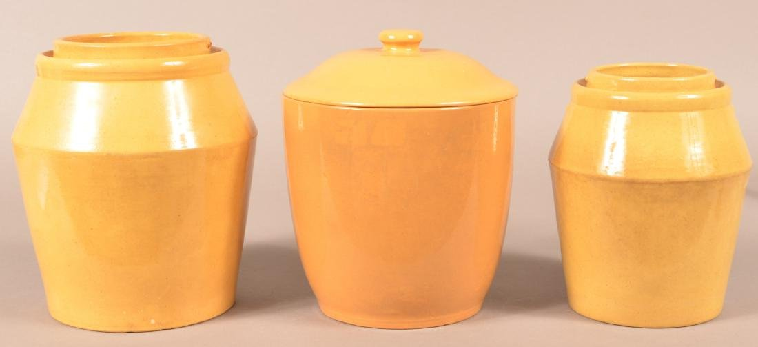 Two pieces of Antique Yellowware.