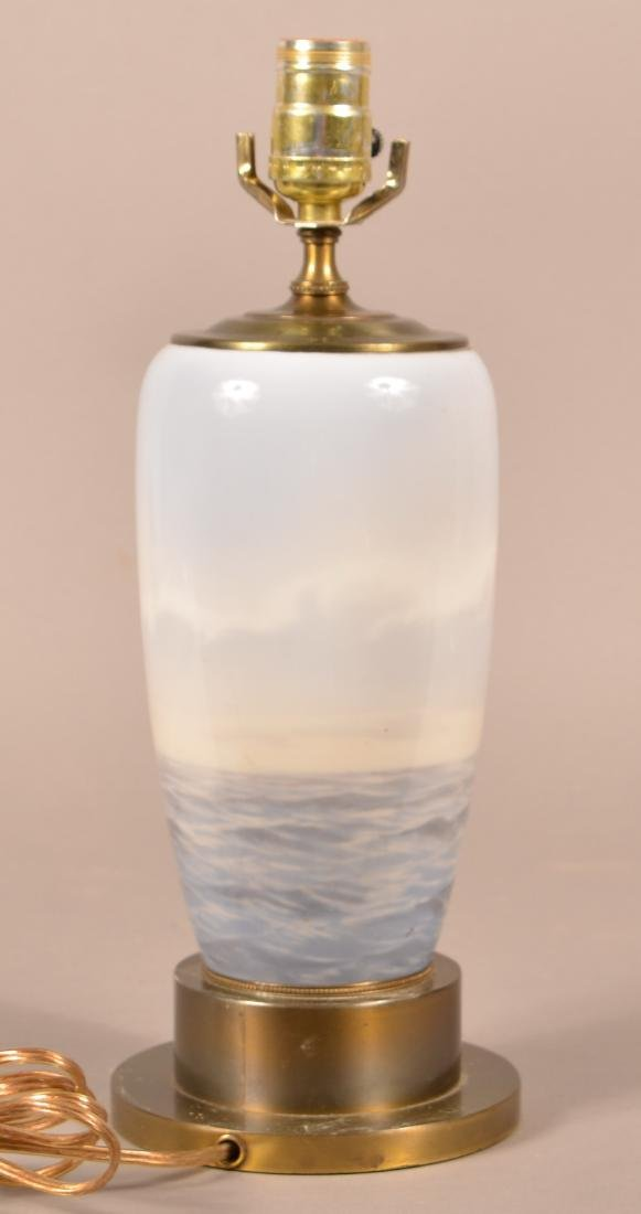 Royal Copenhagen Porcelain Table Lamp. - 2