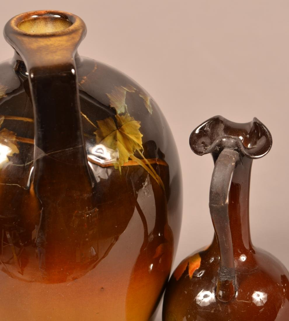 3 Pieces of Rookwood Standard Glaze Pottery. - 5