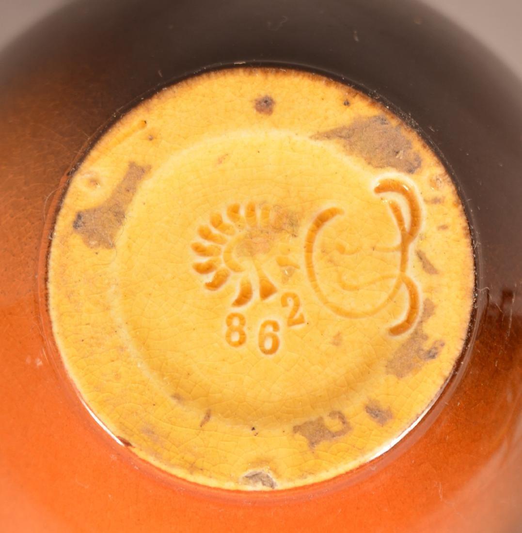 3 Pieces of Rookwood Standard Glaze Pottery. - 7