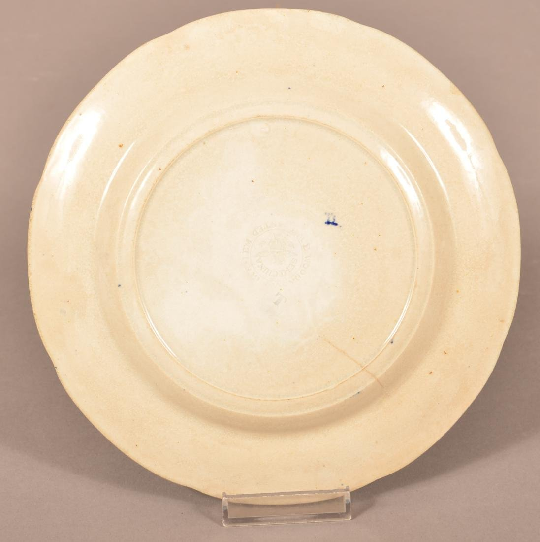Historical Staffordshire Blue Transfer Plate. - 2