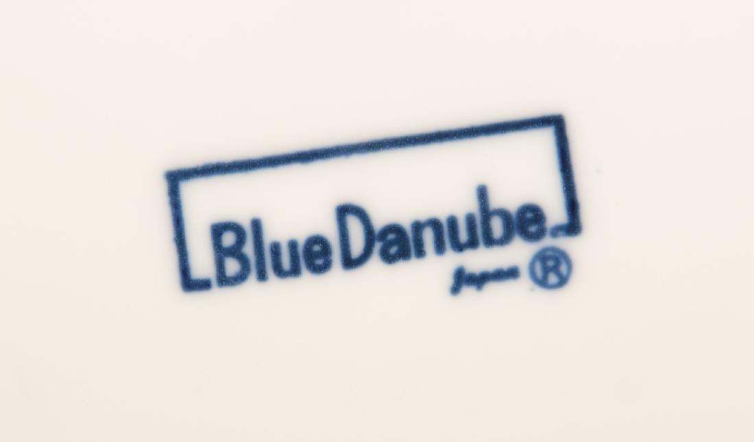 93 Pc. Blue Danube Porcelain Dinner Service. - 2
